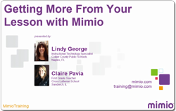 Getting More from Your Lesson with Mimio