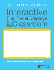 Interactive Flat Panel Displays in the Classroom
