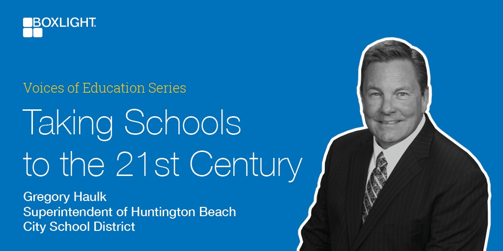 Voices of Education Series - Taking Schools to the 21st Century Podcast