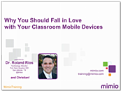 Why You Should Fall in Love with Your Classroom Mobile Devices